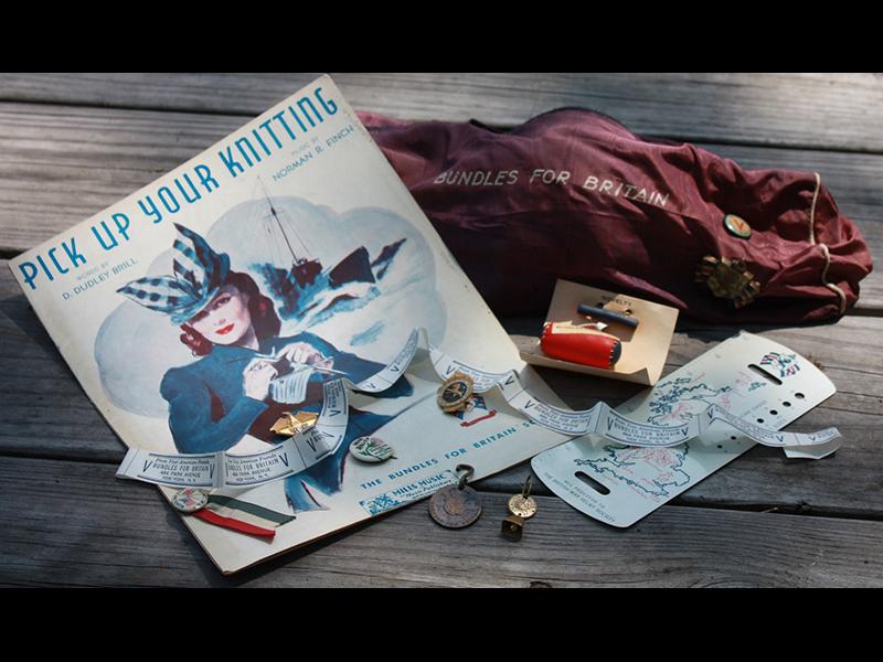 U.S. Knitting Propaganda – WWII