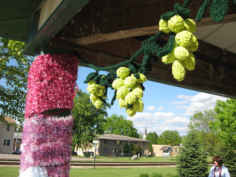 Yarn Bombing Confuses, Distracts and Delights