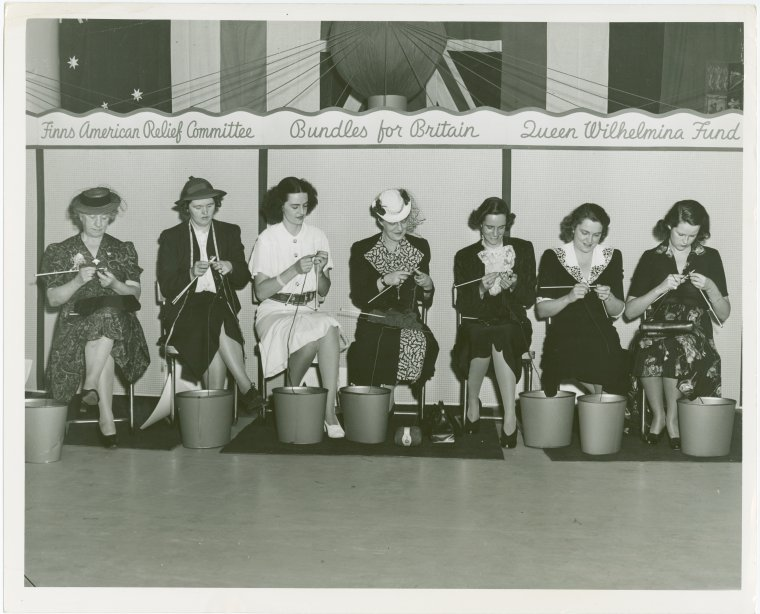 Australia Participation - War knitting marathon at New York World's Fair 1939-1940